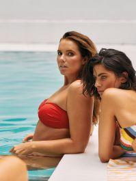 Ibiza Sunset - Bandeau Bikini-Top